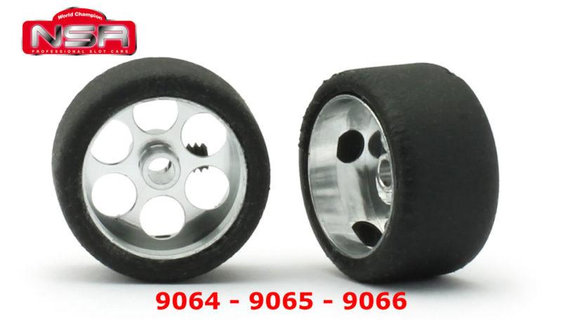Roues complètes NSR - 9064 - 9065 - 9066