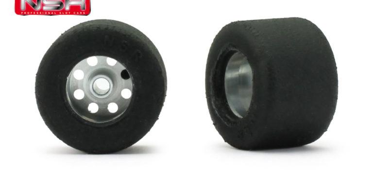 NSR: Des roues complètes pour les slot cars.