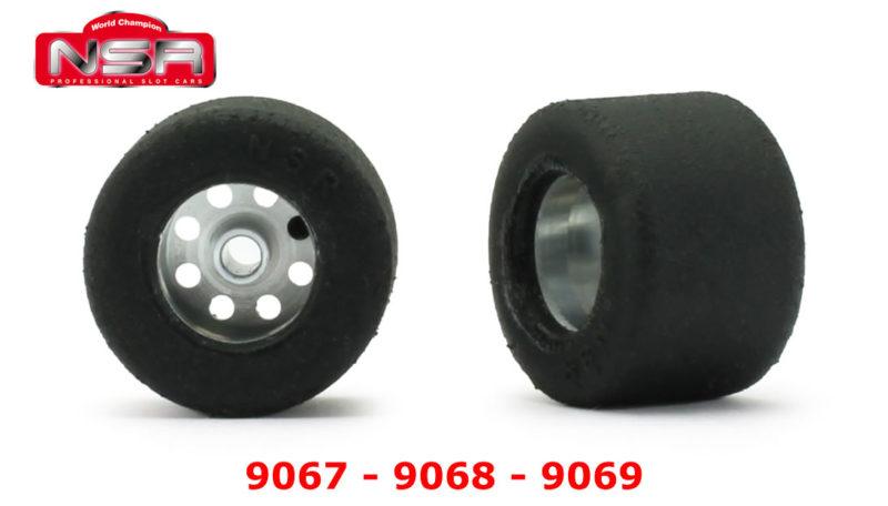 Roues complètes NSR - 9067 - 9068 - 9069