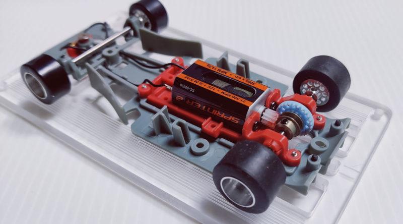 Scaleauto la partie mécanique de la Formula 9097