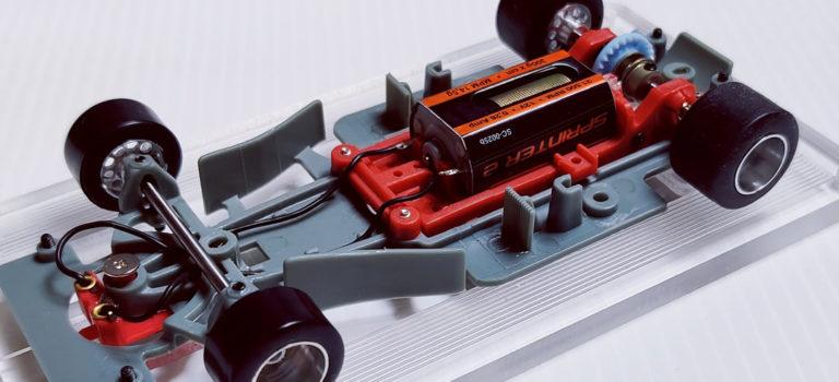 Scaleauto: la partie mécanique de la Formula 90/97