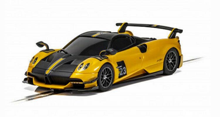 Scalextric la Pagani Huayra Roadster BC – Yellow C4212