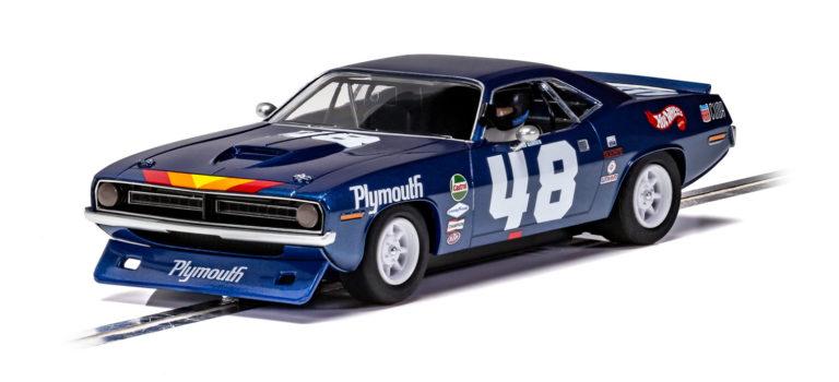 Scalextric: la Plymouth Barracuda – Trans Am 1970 – Dan Gurney – C4219