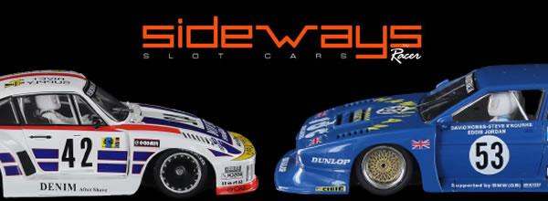 Sideways: Deux nouvelles références dans les slot cars du Groupe 5