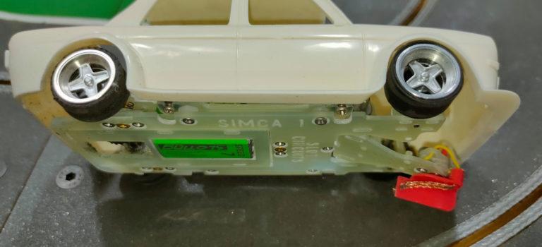 Slot Circuits: Un châssis en fibre de verre pour la Simca 1000 de BRM
