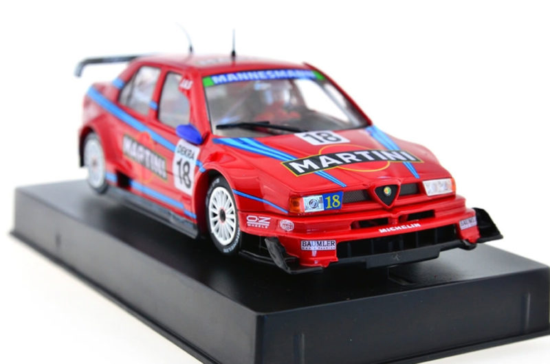Slot it l'Alfa Romeo 155 V6 TI n.18 Mugello ITC 1996 – CA45b