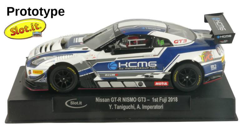 Slot.it - Nissan GT-R Nismo GT3 - 1st Fuji 2018
