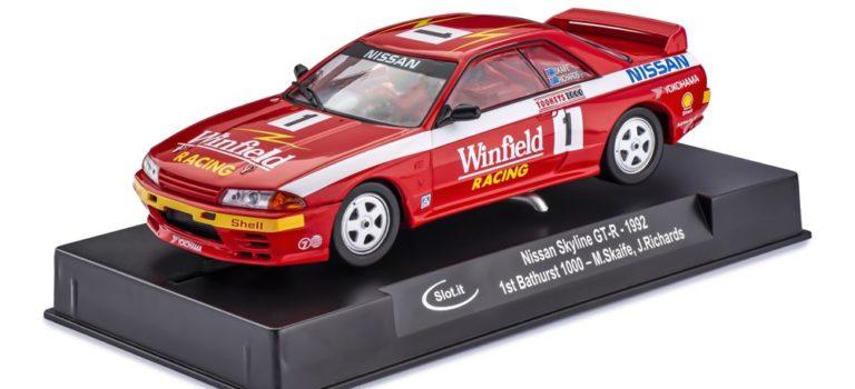 Slot.it: la Nissan Skyline GT- 1992 1st Bathusrt 1000