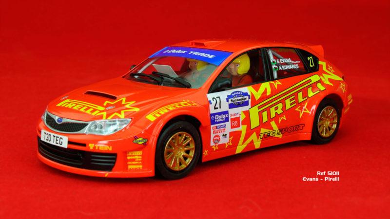Subaru Impreza STI – Pirelli – Rallye Sunseeker International 2011 (ref 51011)