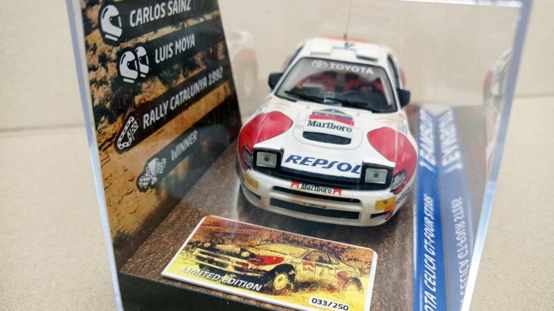 Team Slot - Toyota Celica Repsol Catalogne 1992 C. Sainz TS-11702