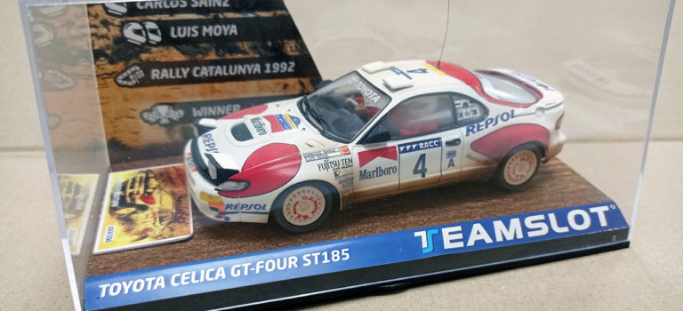 Team Slot: La Toyota Celica GT4 Repsol Rallye de Catalogne 1992 C. Sainz (TS-11702)