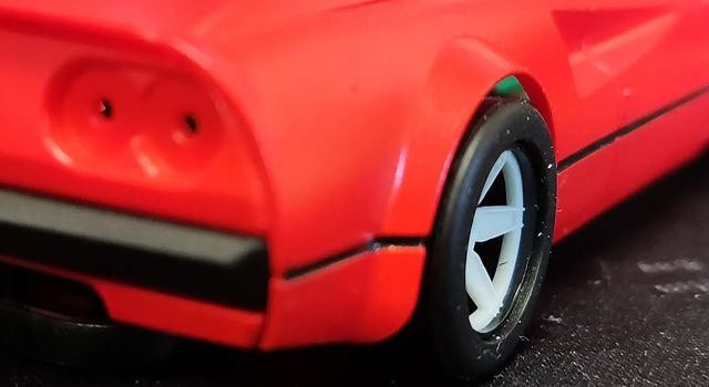 Avant Slot: Une photo du prototype de la 308 GTB