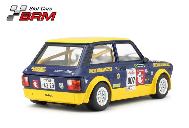 BRM A112 ABARTH – Olio Fiat #007 – Nagano 2015 – Réf BRM132