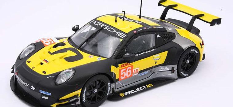 Carrera: La Porsche 991 #56 24H le Mans 2018 1/24