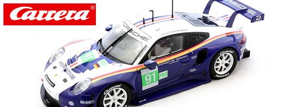 Carrera: la Porsche 991 #91 24H le Mans 2019 – 1/24