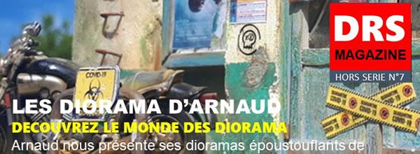 DRS Magazine Les dioramas d'Arnaud numéro Hors Série