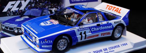 Fly Car Model: la Lancia 037 #11 Tour de Corse 1984