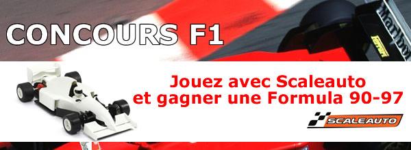 Jeu concours - F1 Scaleauto