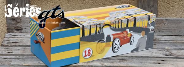 LE MANS miniatures Des BUGATTI TYPE 59 à l'échelle 1-18 pour les 30 ans de la marque