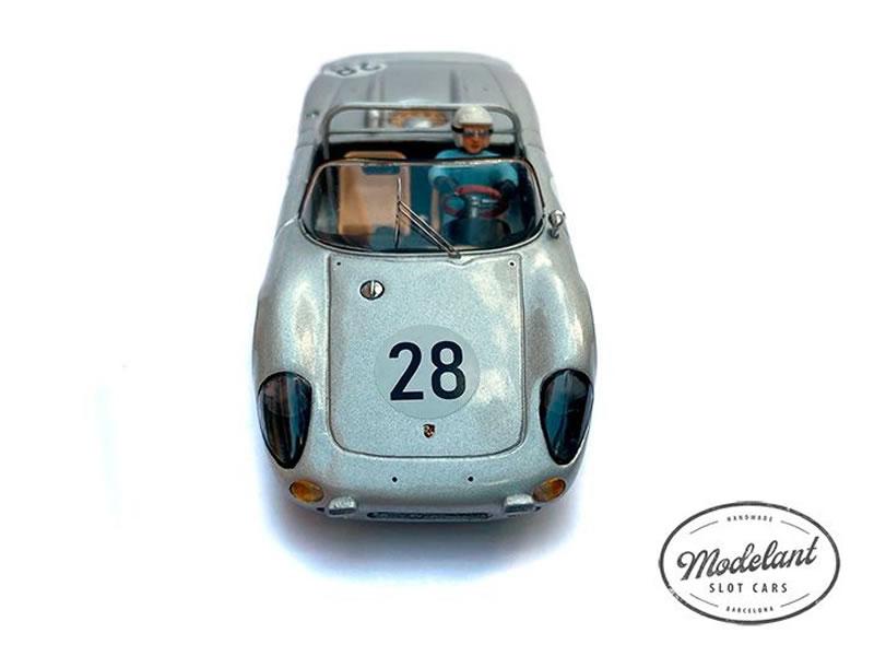 Modelant Slot Cars - Porsche 718 W-RS – Le Mans 1963 - Edgar Barth  Herbert Linge