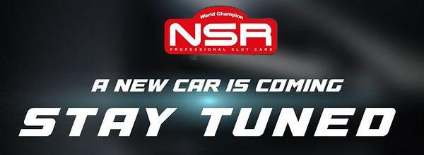 NSR Une nouvelle slot car en préparation