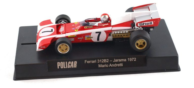 Policar: la Ferrari 312B2 # 7 M.Andretti, Jarama 1972, réf CAR05C