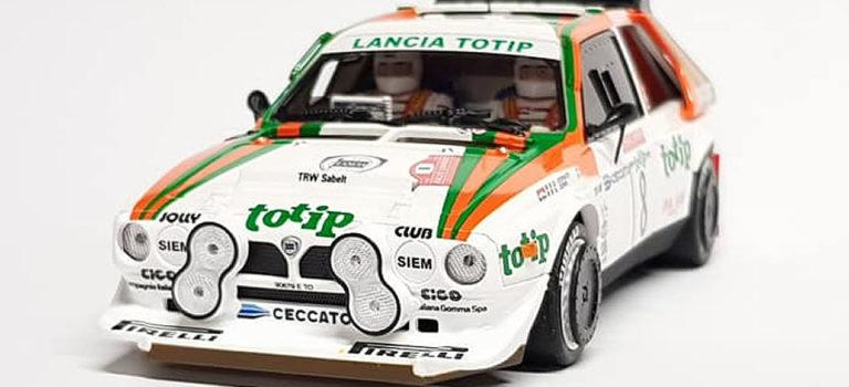 SRC: les photos du sample de la Lancia Delta S4 – TOTIP – San Remo '86