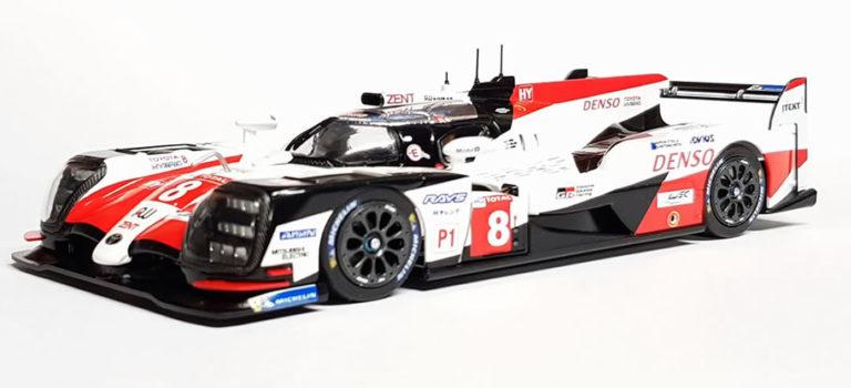 SRC: les photos du sample de la Toyota TS050 #8