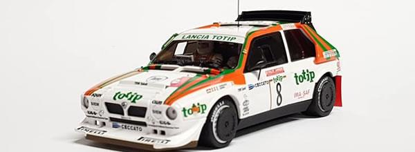 RC: les photos du sample de la Lancia Delta S4 – TOTIP – San Remo '86