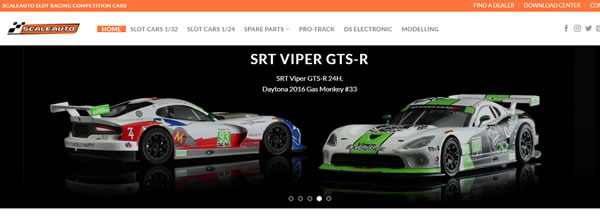 Scaleauto Un nouveau site Internet pour la marque