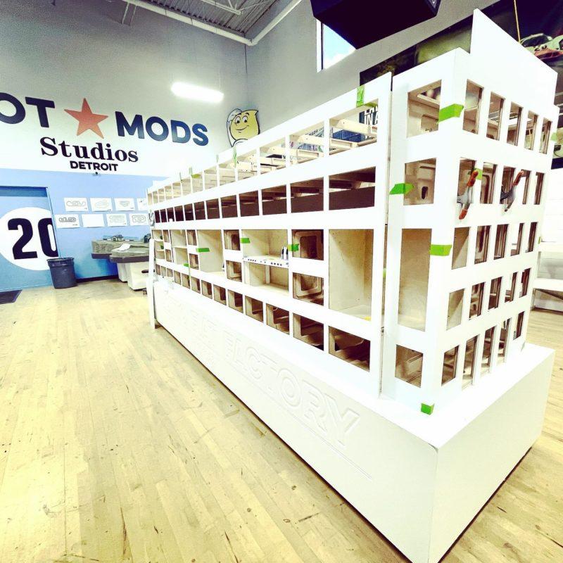 Slot Mods Raceways la réplique de l'usine italienne Ligotto Fiat